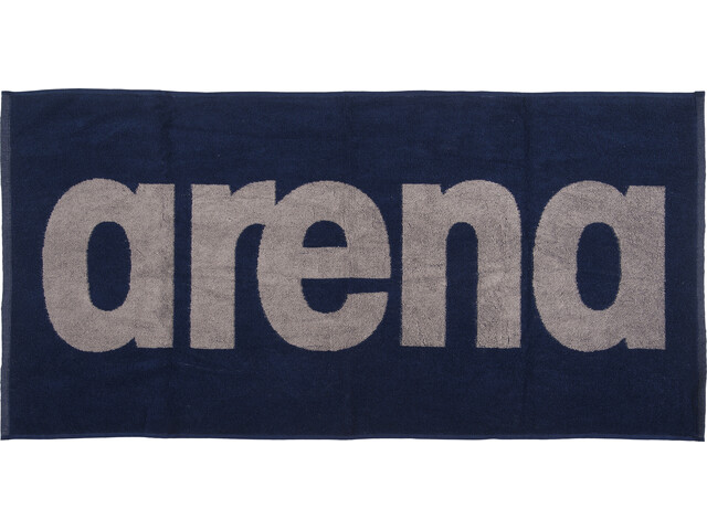 arena Gym Soft Towel navy-grey